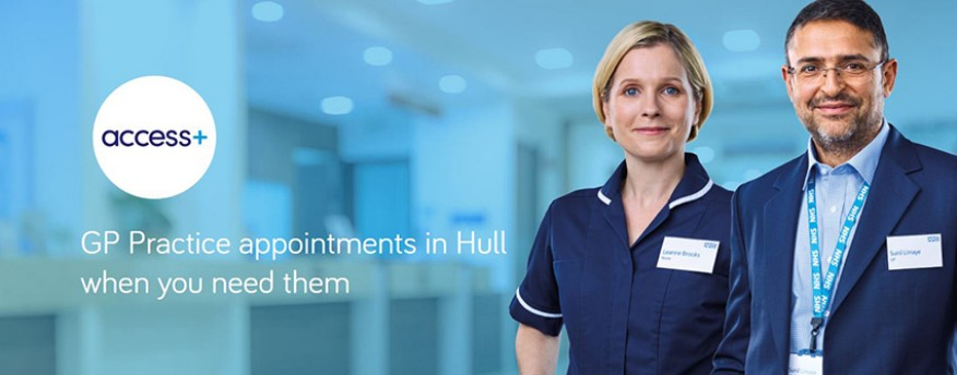 GP Practice appointments in Hull when you need them